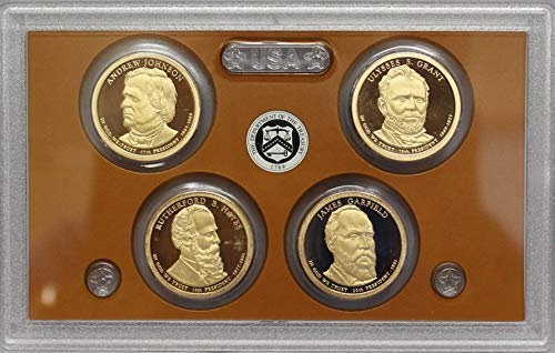 2011 Proof Presidential Dollar Set in Original US Government Packaging