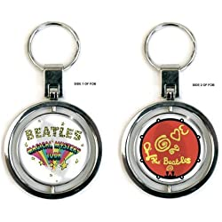 The Beatles - Magical Mystery Tour Spinner Keyring