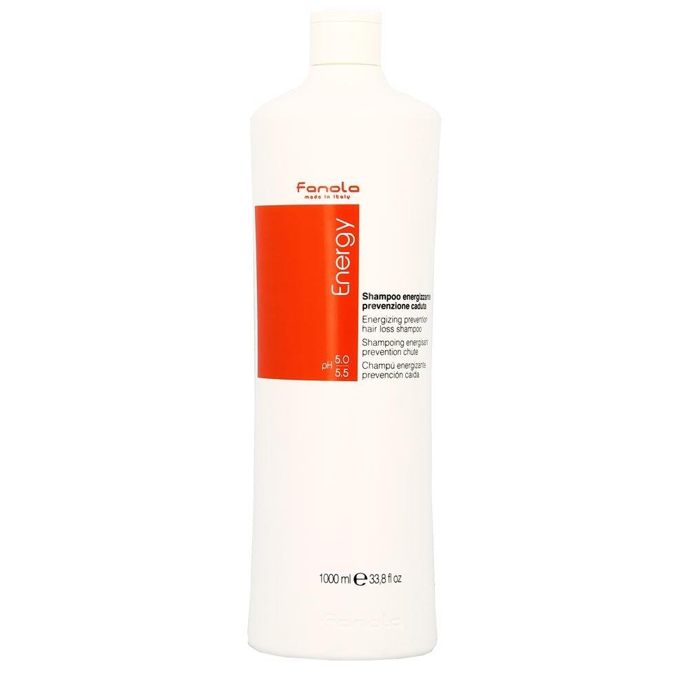 Fanola Shampooing Energy énergisante prévention chute 1000ml 1L–Anti-chute–Cheveux faibles, fins