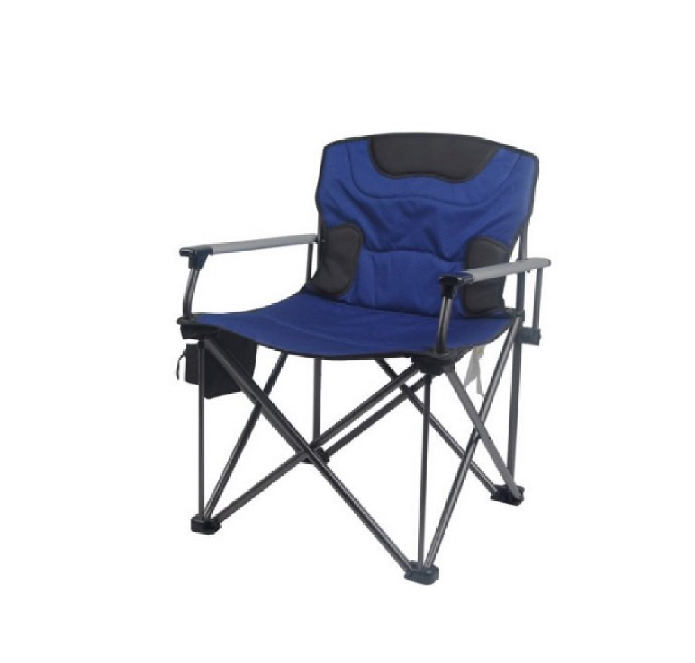 Ozark Trail 500 lb Capacity XXL Director Chair, Blue