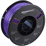 AmazonBasics PETG 3D Printer Filament, 1.75mm, Purple, 1 kg Spool