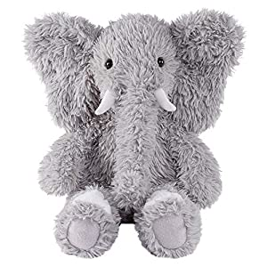 Vermont Teddy Bear Amazon Exclusive Oh So Soft Elephant Stuffed Animals and Teddy Bears, Grey, 18 inches