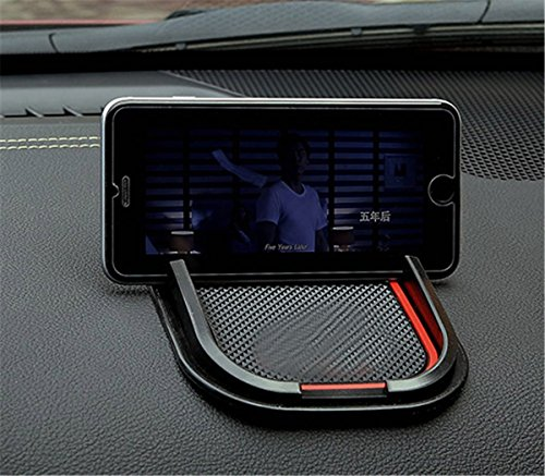Used Jeep Liberty Renegade - FMtoppeak Red Car Styling Anti-slip Phone Holder Mat For Jeep Renegade /Cherokee /Grand Cherokee/ Patriot/Wrangler/Commander/Liberty