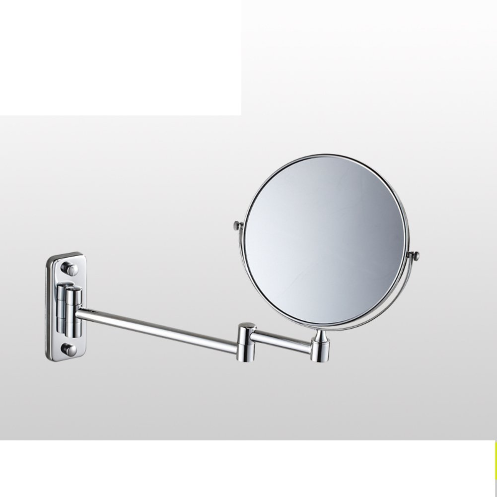 85%OFF cosmetic mirror/wall-mounted bathroom cosmetic mirror/ fold mirrors/ toilet telescopic mirror/ double-sided magnified mirror-G