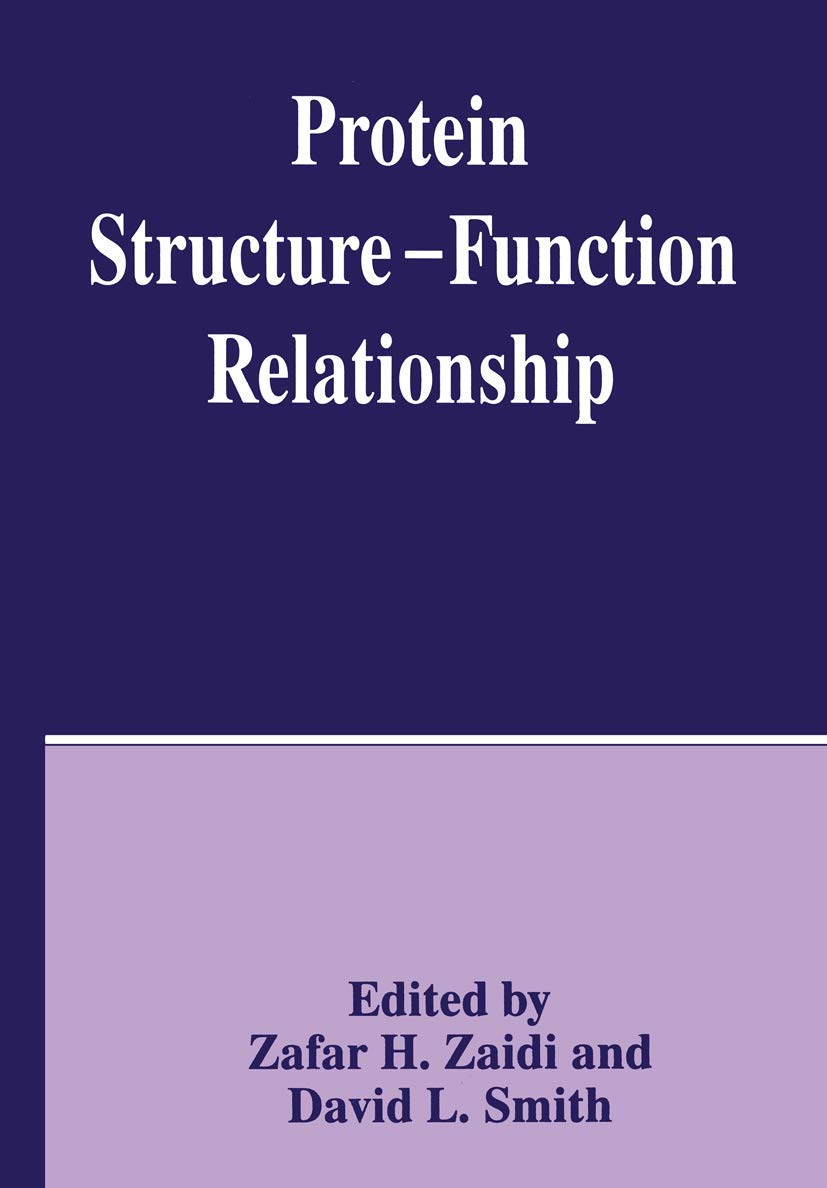 Protein Structure - Function Relationship: Amazon.es: Smith ...