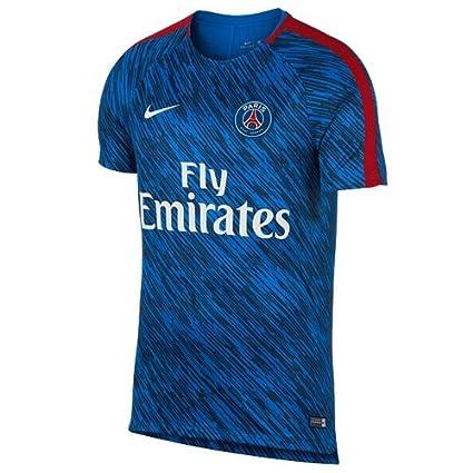 Nike PSG M Nk Dry Sqd SS Gx Camiseta de Manga Corta París Saint-Germain FC, Hombre: Amazon.es: Deportes y aire libre