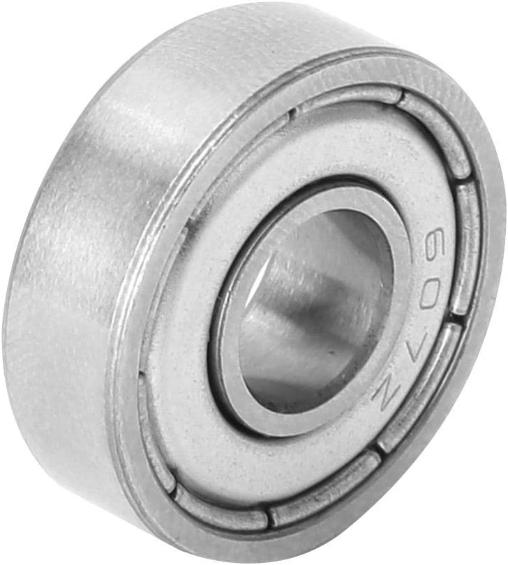 Ball Bearings Bearing steel High Speed 607-ZZ//608-ZZ//609-ZZ high-speed 10pcs for electric motor 3D printer Bearings 607-zz