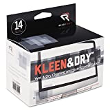Kleen & Dry Screen Cleaner Wet Wipes, Cloth, 5 X 5, 14/box By: Read Right