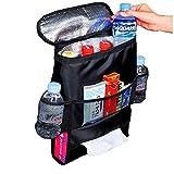 YAOBAO Standard Car Seat Back Organizer,Multi-Pocket Travel Storage Bag, 2Pcs