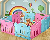 Baby Playpen Kids 8 Panel Safety Play Center Yard Home Indoor Outdoor Pen