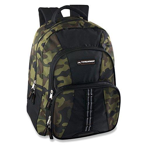 Trailmaker Multi Pocket Camo Backpack (green)