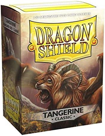 Dragon Shield Classic Tangerine Sleeves 100