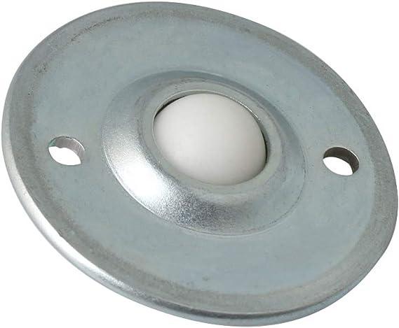 confezione da 5 diametro 12/mm Bqlzr cy-12b disco volante sfera transfer cuscinetto trasportatore roller ruota in nylon a sfera