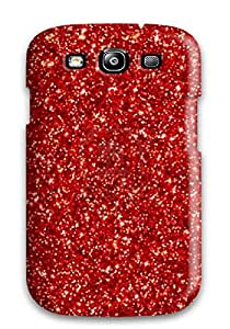 UQYPqyI6737Seqkw Glittery Red Awesome High Quality Galaxy S3 Case Skin