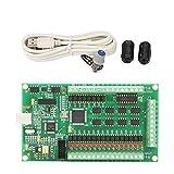 Akozon CNC Motion Card 3/4 Axis USB Mach3 200KHz Breakout Board Interface for Machine Windows (4 Axis)