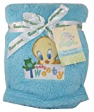 Baby Looney Tunes Tweety Bird Baby Fleece Blanket 30″ X 36″ Blue, Baby & Kids Zone