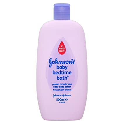 Johnsons 500ml Baby Bedtime Bath - Pack ...