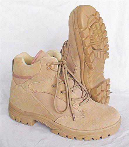 McAllister Semi Cut Boots in 2 verschiedenen Farben wählbar Farbe Beige Größe 43