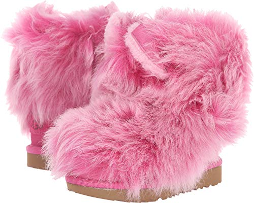 UGG Kids Baby Girl's Pinkipuff Classic II (Toddler/Little Kid) Pink Azalea 6 M US Toddler