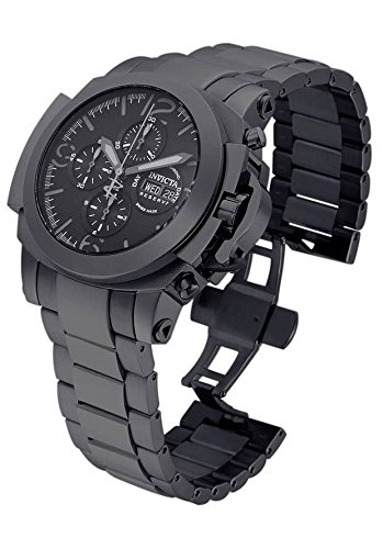 Invicta Men's 'Reserve' Swiss Automatic Stainless Steel Casual Watch, Color:Black (Model: 18700)
