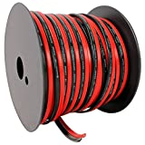 Rockville R14GSBR100 Red/Blk 14 Gauge 100' Ft. Mini Spool Car Audio Speaker Wire
