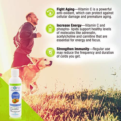Amazon.com: Optimizado liposomal con vitamina C de 0.035 oz ...