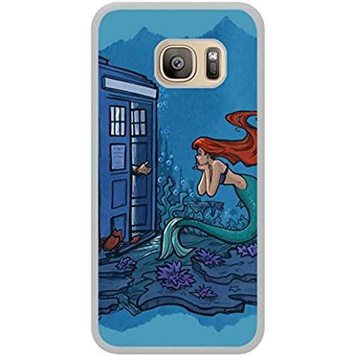 UGF Generic Dr Who With Ariel White Shell Case for Samsung Galaxy S7,Fashion Cover Sales