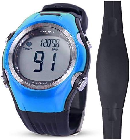 MIAOGOU Relojes Deportivos frecuencia Fitness Tracker Monitor de Ritmo cardíaco Deportes Relojes Polares Corriente inalámbrica Digital Ciclismo Correa para el Pecho Hombres Mujeres Reloj Deportivo