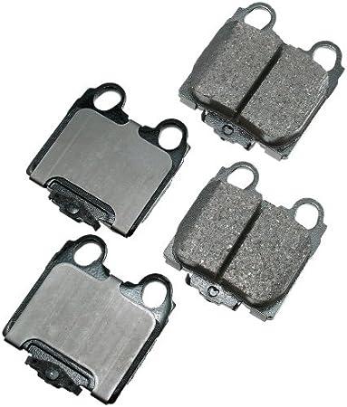 Disc Brake Pad Set-ProACT Ultra Premium Ceramic Pads Front Akebono ACT576