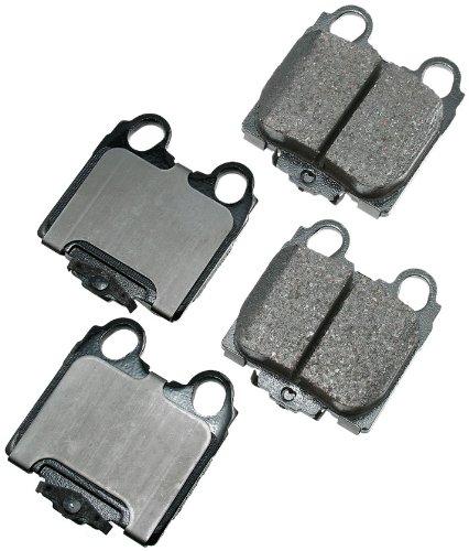 (Akebono ACT771 ProACT Ultra-Premium Ceramic Brake Pad Set)