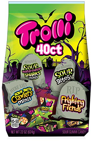 Trolli Gummy Mix Bag, Assorted Candy, 22 Ounces (Mix Gummy)