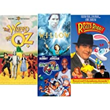 Wizard of Oz, Willow, Who Framed Roger Rabbit?, Space Jam
