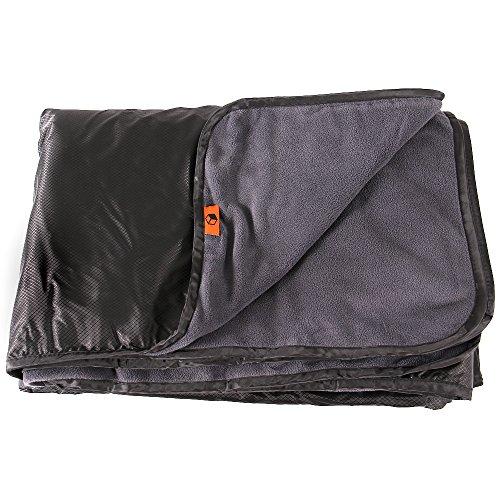 wholesale dealer 79891 b6448 Oak Mountain Outdoor Gear 58″ x 84″ Waterproof   Windproof All Purpose  Stadium Blanket with Shoulder Drawstring Carrying Bag