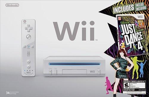 Nintendo Wii Just Dance 4 Bundle - - Wii Games Just Dance Bundle