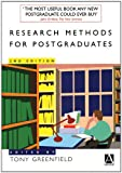 Research Methods for Postgraduates 2e, Greenfield, 0470665904