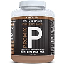 100% Casein Protein Powder I PROMIX Chocolate Micellar I USA Pastures I ONLY 1 Ingredient I Stimulate Muscle Growth & Recovery Slow Release Amino I Preservative Free Keto Bulk 1LB- No Soy, Gluten