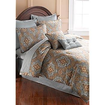 Amazon Com Belk Home Accents Obesque 8 Piece Comforter