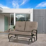 FurniTure Outdoor Bench Outdoor Glider Patio Love