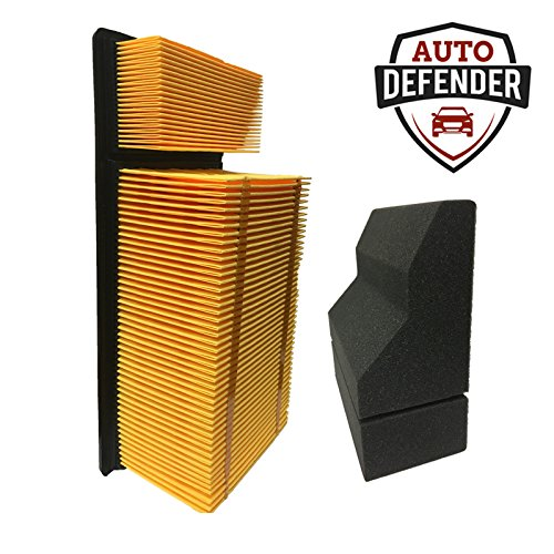 Auto Defender PA1907 PA6109 Air Filter Kit for 6.7L Diesel Engines (1 Each)