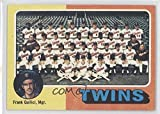 Minnesota Twins Team; Frank Quilici (Baseball Card) 1975 Topps Minis - [Base] #443