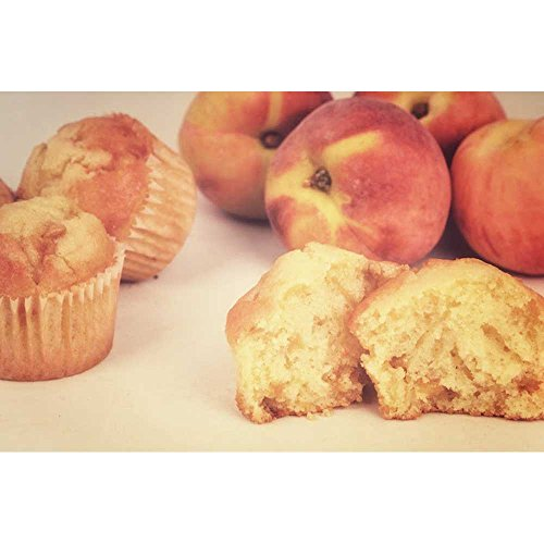 Foxtail Foods Simply Scoop Peach N Cream Muffin Batter, 16 Pound - 1 (Sour Cream Muffins)