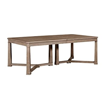 Stanley Furniture Wethersfield Estate Dining Table In Brimfield Oak