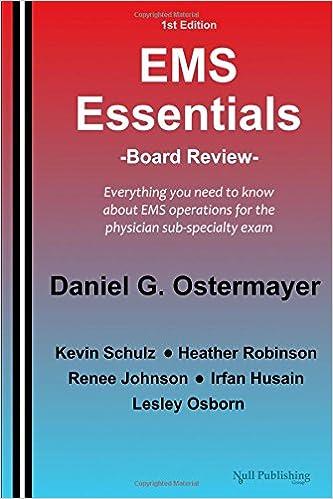 Book EMS Essentials: Board Review