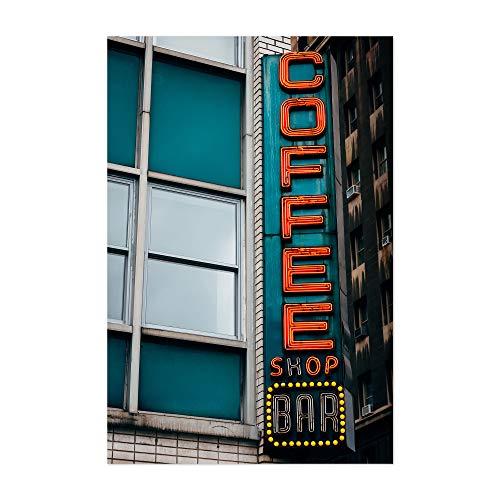Noir Gallery Coffee Shop Bar Vintage Sign NYC 12