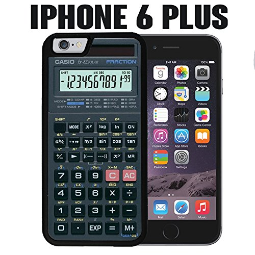 iPhone Case Scientific Calculator for iPhone 6 PLUS Rubber Black (Ships from CA) (Best Scientific Calculator For Iphone)
