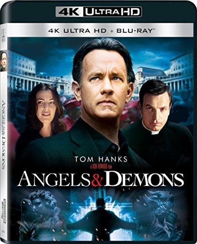 Angels & Demons (4K UHD + Blu-ray + UV Combo) -  Rated PG-13, Ron Howard, David Pasquesi