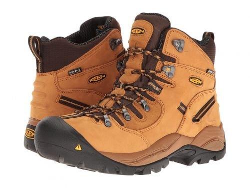 Keen Utility(キーン) メンズ 男性用 シューズ 靴 ブーツ 安全靴 ワーカーブーツ PittsburghWheat [並行輸入品] B07C8G6VDN 12 D Medium