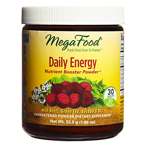 Cheap MegaFood – Daily Energy Booster Powder, Promotes Sustained Energy Throughout the Day, 30 Servings (1.86 oz)
