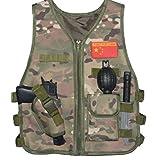 GSKids Tactical Vest Children's Adjustable Military Fans Clothing