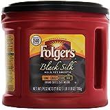 Folgers Black Silk Regular Coffee - Regular - Black Silk - Dark/Bold - Ground
